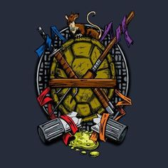TMNT in a Nut...I Mean Turtle Shell