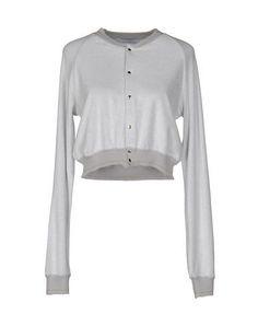BALLANTYNE Women's Cardigan Light grey L INT