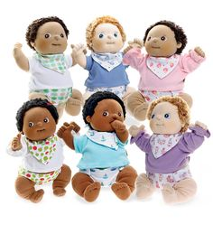 Rubens Barn Baby Doll By far the CUTEST lil' baby dolls out there!