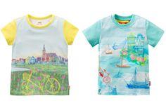 @oililyworld Kids Spring 2014, t-shirts with landscapes. #landscape #oilily #springsummer2014 #SS14 #children #kids #childrenwear #kidswear #girls