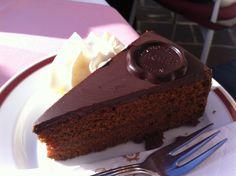 try the famous Sacher Torte Cake, Desserts, Food, Austria, Tailgate Desserts, Deserts, Kuchen, Essen, Postres