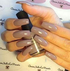 Half of women in the world prefer square nails because they are very easy to create and shape. We know that women only look better when their nails are shaped properly. Whether your nails… Continue Reading → Coffin Shape Nails, Coffin Nails Long, Long Nails, Nails Shape, Short Nails, Sexy Nails, Nude Nails, Acrylic Nails, Pastel Nails