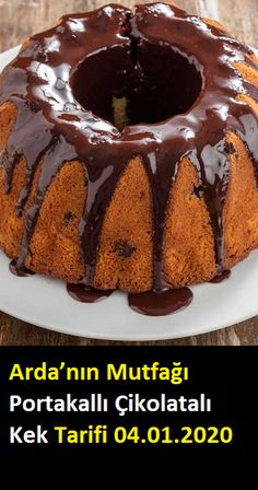 Orange Chocolate Cake- Portakallı Çikolatalı Kek Arda's Kitchen Orange Chocolate Cake … - Chocolate Orange, Chocolate Cake, Cake Recipes, Dessert Recipes, Desserts, New Cake, Blueberry Cake, Cake Trends, Girl Cakes