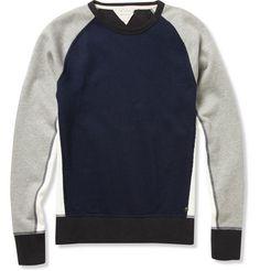 Rag & bone Loopback Cotton-Blend Sweatshirt   MR PORTER