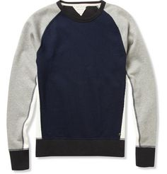 Rag & bone Loopback Cotton-Blend Sweatshirt | MR PORTER