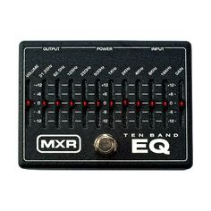Dunlop MXR Equalizer Guitar Effect Pedal for sale online Bass Pedals, Guitar Pedals, Kerry King, Best Home Theater System, Digital Piano Keyboard, Used Guitars, All About That Bass, Guitar Rig, Guitar Effects Pedals
