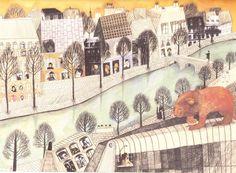 Beatrice Alemagna - Un Lion à Paris