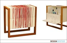 Fusing modern design with a classic fashion icon, the limited edition Coco Mini.Bar has been hand finished by drizzling Chanel nail varnish over the white lacquered exterior.  The compact and modern drinks cabinet is perfect for home dining and launched with the MoMA store in New York. Now Pfeifer has applied Chanel No. 159 Fire Red, the classic movie star shade, and No. 18 Rouge Noir worn by Uma Thurman in Pulp Fiction, to create a piece inspired by the Femme Fatale and dripping with…