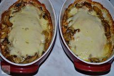 Piept de pui gratinat cu mozzarella si ciuperci - CAIETUL CU RETETE Mozzarella, Mashed Potatoes, Ethnic Recipes, Desserts, Food, Meal, Deserts, Essen, Hoods