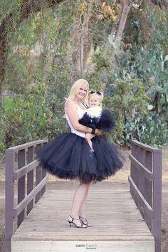 Maman et moi Matching Tutu Set - toute couleur, Tutu adulte, Tutus, mère et fille robe, Matching tutus