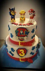 Resultado de imagen para paw patrol 3 tier cake