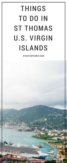 Things To Do In St Thomas U.S. Virgin Islands