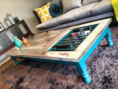 Quick Tip #27: Old Doors As Tables | The Design Tabloid