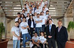 https://flic.kr/s/aHskzBDSsv | Scrum Cartagena 2016 EU-XCEL | Del 8 al 13 de Mayo se desarrolla el 'Start-up Scrum', una iniciativa del programa de aceleración de startups EU-XCEL financiado por la Comisión Europea en su programa H2020.   El evento tiene su sede en la Escuela de Ingeniería Industrial de la Universidad Politécnica de Cartagena. Durante dicha semana, 34 estudiantes y titulados de ramas técnicas y Económicas de 9 países Europeos recibirán formación específica en…