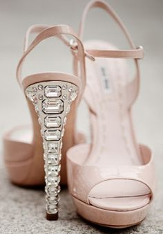 Jewelled heels