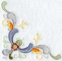 rosemaling | Machine Embroidery Designs at Embroidery Library! - Rosemaling Corner