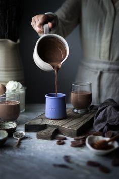 Lavender & Vanilla Milk Hot Chocolate - The Kitchen McCabe