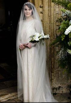 Lady Mary's wedding dress-Downton Abby--art deco gal's