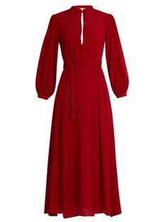 RAQUEL DINIZ Armonia silk-georgette dress. #raqueldiniz #cloth #dress