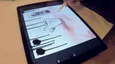 Drei neugierige Künstler und ein Tablet mit Stylus: Wir haben uns angesehen, wie analoge mit digitaler Kunst verschmilzt und uns erklären lassen, warum Apples Pencil ein großer