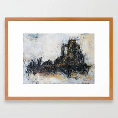 Neutral cityscape Framed Art Print Soft Colors, Framed Art Prints, Wall Art Decor, Pop Art, Neutral, Inspire, Paintings, Artists, Abstract