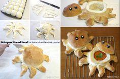octopus bread bowl