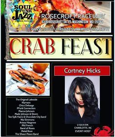 ...when your #dmv #family loves you misses you &  remembers that you #love #seafood! See ya'll #august 26th #wcw #cortneyhicks #host #cortneyhickshosting #hicks #crab #crabfeast #crabfest #live #performance #music #maryland #summer #summerfest #soul #funk #food #fun