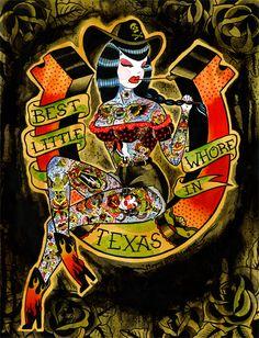 ☆ Best Little Whore In Texas.。Art By :→: MummysLittleMonster ☆