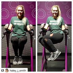 #Repost @haley_j_smith Thank you 💪 #KeepGoingSISS ・・・ When I first started I couldn't even get my legs up because I had no leg or ab strength, and my arms were so weak I couldn't hold my body weight so I would fall before I could even do one crunch. Now I can easily hold them up and even smile for cheesy pictures! • Also thank you @smartissosexy for the shirt! For every shirt bought, they donate school supplies/backpacks to children in need in Jamaica! • #nsv #planetfitness #mergby #siss…