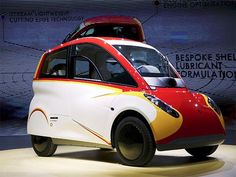 Slideshow : Shell unveils petrol-burning concept car - Shell sidesteps electric bandwagon with petrol-powered concept car - The Economic Times