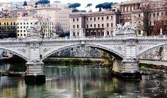 Tevere/Tiber river, Rome | by © MrAchab | via allthingseurope