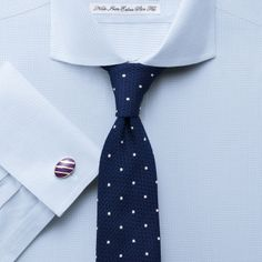 "Sky twill puppytooth non-iron extra slim fit shirt | Tailored fit dress shirts from Charles Tyrwhitt | CTShirts.com | 15.5"" x 32/33"""
