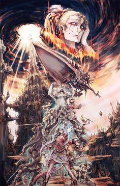 Final Fantasy VI main characters