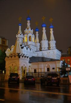 Church of the Nativity of the Theotokos at Putinki, Moscow, Russia