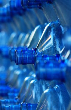 Blue | Blau | Bleu | Azul | Blå | Azul | 蓝色 | Color | Form | Texture | Blue Bottles by Mehtap Hörnemann
