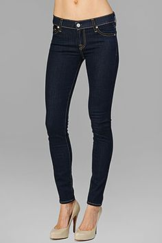 Seven for All King The Skinny in Rinsed Indigo $154