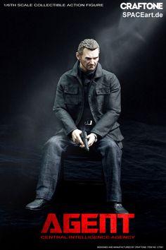 96 Hours: Bryan Mills (Liam Neeson) » Typ: Deluxe-Figur (voll beweglich) » Hersteller: Craftone »…