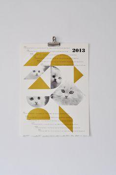 field guided calendar | via fox & brie