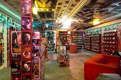 video rental store