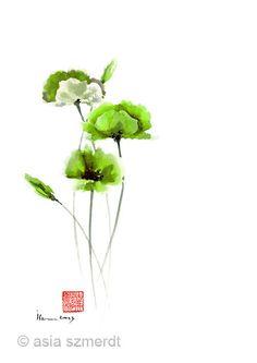 green as life art music by carlos palacios on Etsy