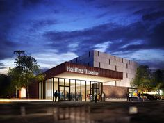 Highly Commended - This image was created by Andrew Parks using FormZ 6.5. It shows a new design for the regions only black repertory theater by Archimania in Memphis, Tennessee.