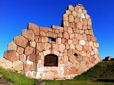 Bomarsundin rauniolinna Ahvenanmaalla