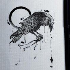Why Choosing An Angel Tattoos? Tattoo Sketches, Tattoo Drawings, Body Art Tattoos, Sleeve Tattoos, Crow Tattoos, Phoenix Tattoos, Ear Tattoos, 16 Tattoo, Tatoo Art