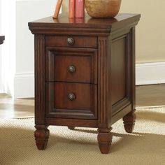amazon com charlton home herwy chairside end table wooden side