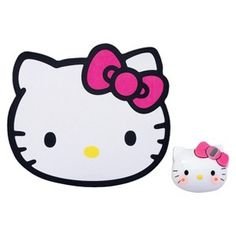 Hello Kitty Wireless Mouse and Mousepad Set