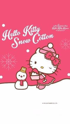 Image in Hello kitty collection by ป่านแก้ว on We Heart It Hello Kitty House, Hello Kitty Art, Hello Kitty Nails, Hello Kitty My Melody, Hello Kitty Items, Sanrio Hello Kitty, Hello Kitty Wallpaper Free, Hello Kitty Backgrounds, Hello Kitty Christmas Tree