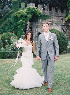 Photography: Jen Huang - JenHuangBlog.com  Read More: http://www.stylemepretty.com/2015/01/26/destination-florence-castle-wedding/