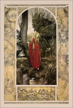 The Mabinogion by  Lady Charlotte Guest. HarperCollins UK. ISBN 978-0-261-10391-7; 2001. Illustrator Alan Lee.