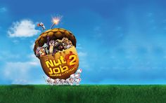 Download wallpapers The Nut Job 2, Nutty by Nature, 2017, Poster, new cartoons, squirrel