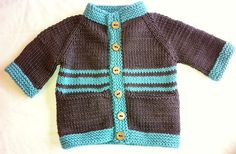 Baby Bunting Sweater By Linden Down - Free Knitted Pattern - (ravelry)